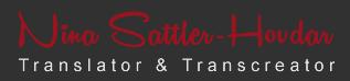Sattler-Hovdar Übersetzung und Transkreation